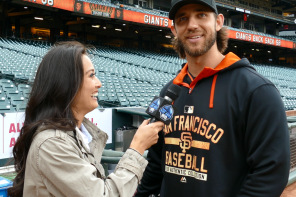 TV: Giants' Madison Bumgarner & Bochy On Belt Buckles!