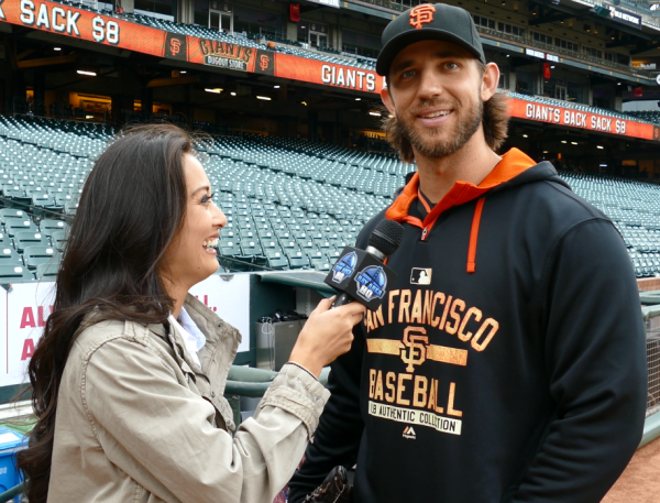 Madison Bumgarner 2015 Interview San Francisco Giants Belt Buckle Giveaway