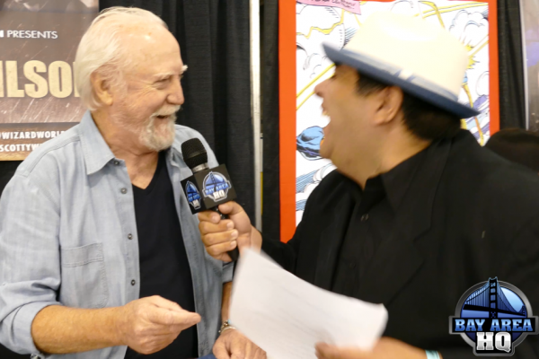 Scott Wilson Walking Dead Wizard World San Jose 2015 Comic Con