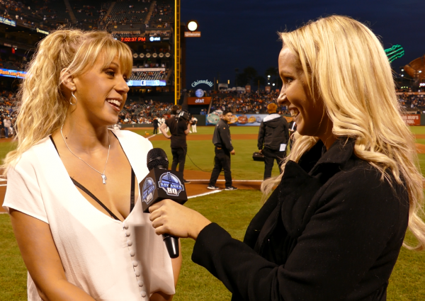 Jodie Sweetin Stephanie Tanner Full House San Francisco Giants Interview 2015