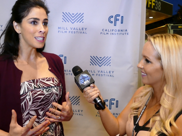 "Sarah Silverman ""I Smile Back"" Interview Red Carpet Mill Valley Film Festival San Francisco Bay Area"
