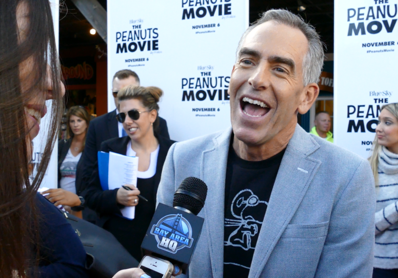 Steve Martino Blue Sky The Peanuts Movie Interview San Francisco Bay Area Red Carpet Premiere Pier 39