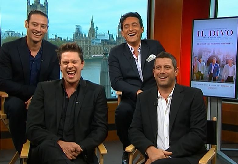 Il divo serenades viewers talks amor pasion tour bay area hqbay area hq - Il divo cast ...