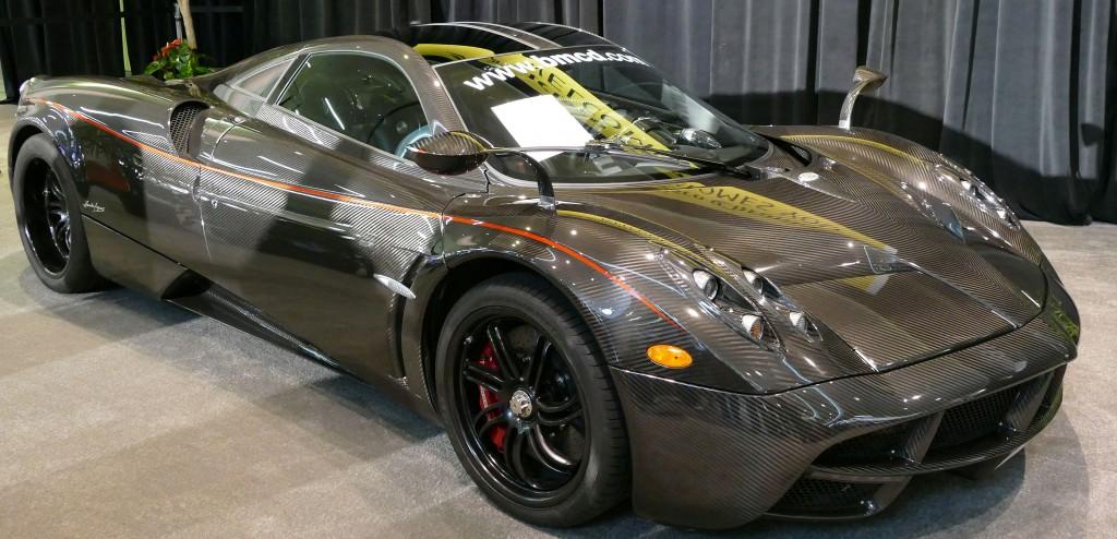 SF Auto Show - Pagani Huayra - Est. 1.3 Million Dollars