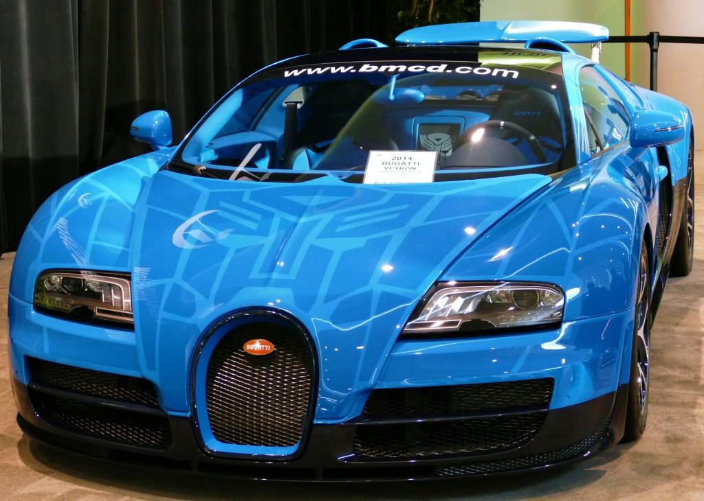 SF Auto Show - Bugatti Veyron Vitesse Transformers Edition