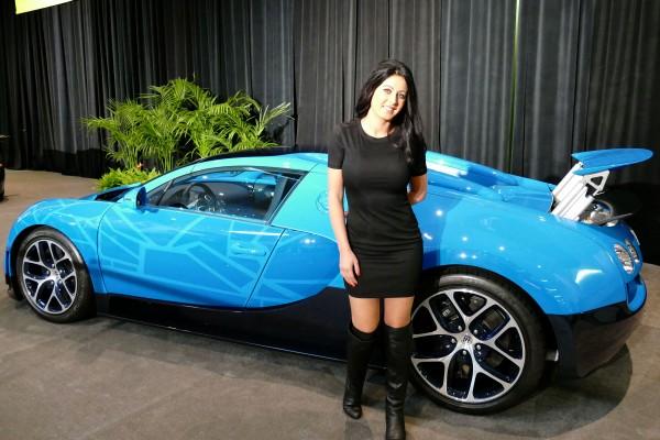 Bugatti Veyron Vitesse Transformers Edition 2015 SF Auto Show