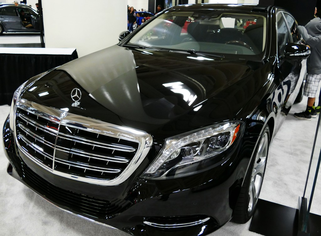 SF Auto Show - Mercedes-Maybach S600 - Est. 200,000 Dollars