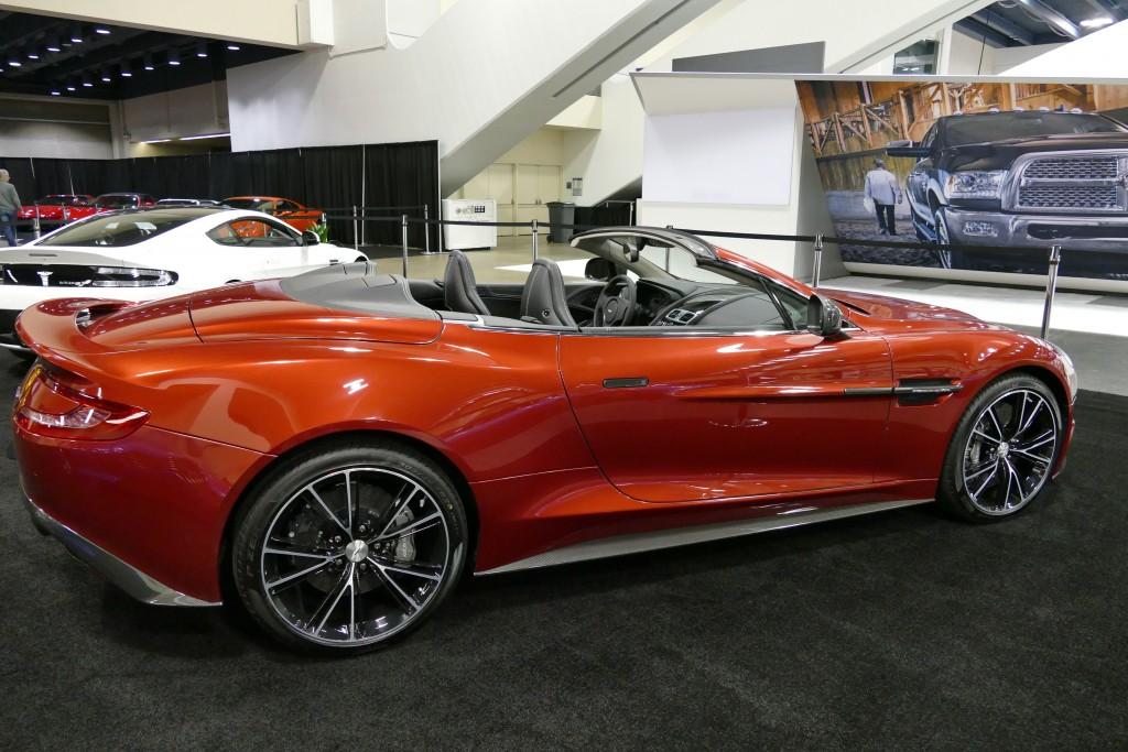 SF -Auto Show - 2016 Aston Martin Vanquish - Est. $350,000