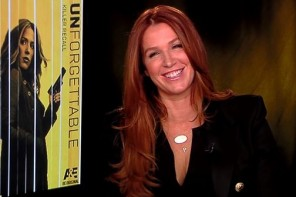 "Poppy Montgomery on Maxim, Male Strippers, ""Unforgettable"""
