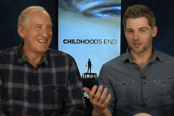 Charles Dance Mike Vogel Childhoods End Game of Thrones Interview Tywin Lannister