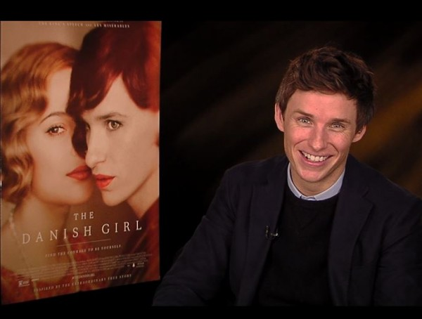 Eddie Redmayne The Danish Girl Fantastic Beasts Star Wars Interview