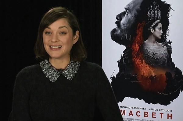Marion Cotillard Macbeth Interview Assasins Creed