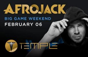 Afrojack Temple Nightclub Super Bowl Parties 2016