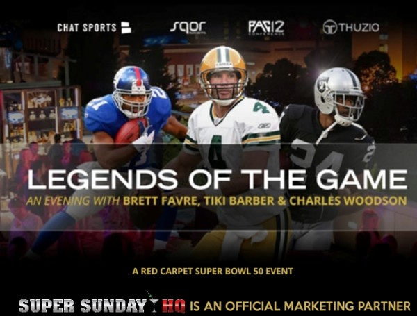 Legends of The Game Super Bowl Party Brett Favre Charles Woodson Tiki Barber edited 4Legends of The Game Super Bowl Party Brett Favre Charles Woodson Tiki Barber edited 4