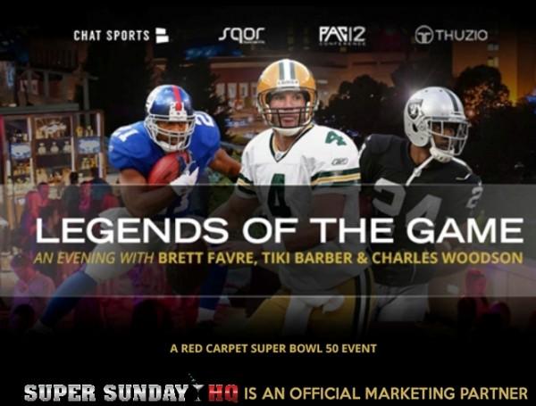 Legends of The Game Super Bowl Party Brett Favre Charles Woodson Tiki Barber edited 4Legends of The Game Super Bowl Party Brett Favre Charles Woodson Tiki Barber edited 4
