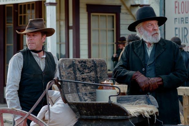 Kiefer Sutherland Forsaken Interview