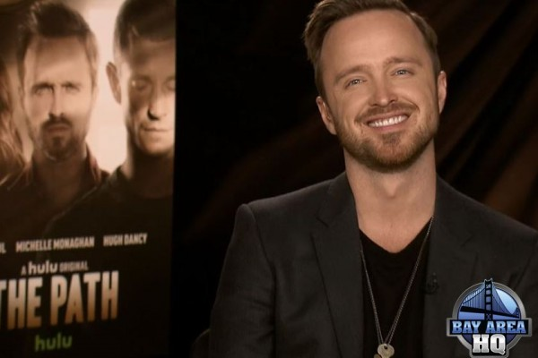 Aaron Paul The Path Interview Hulu