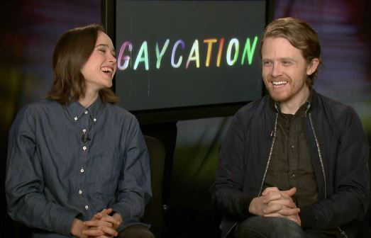 Ellen Page and Ian Daniel Gaycation Interview Viceland