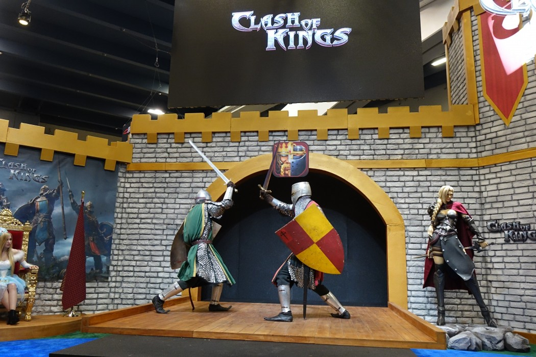Incredible Clash of Kings Cosplay and Stage Show Booth