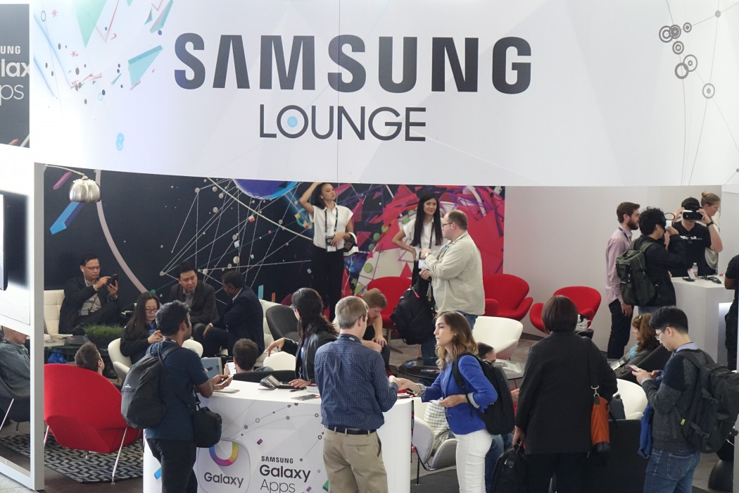 The Samsung Lounge at GDC