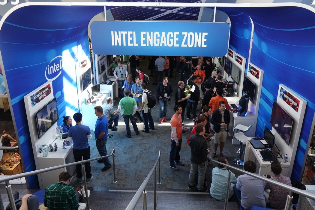 The Intel Engage Zone Area