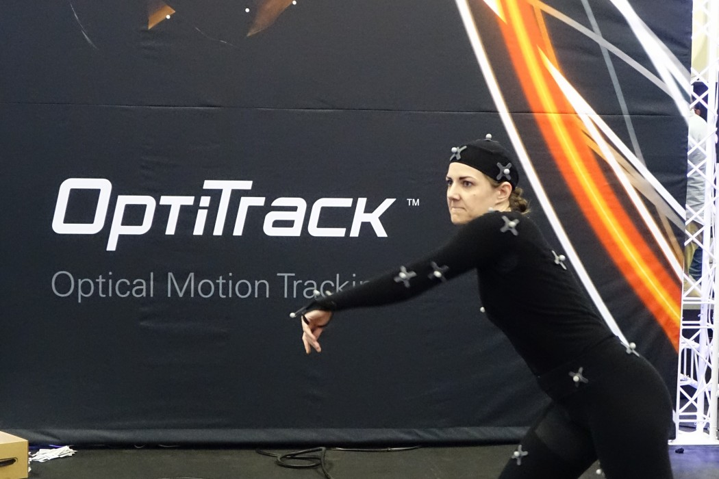 Motion Capture in Progress at GDC