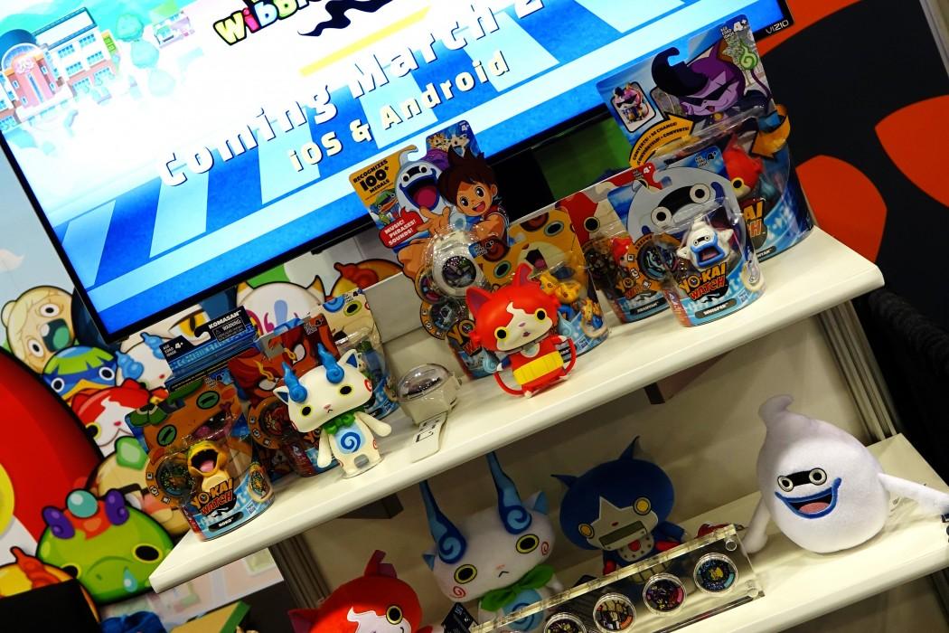 The Yo-Kai Watch Game Booth