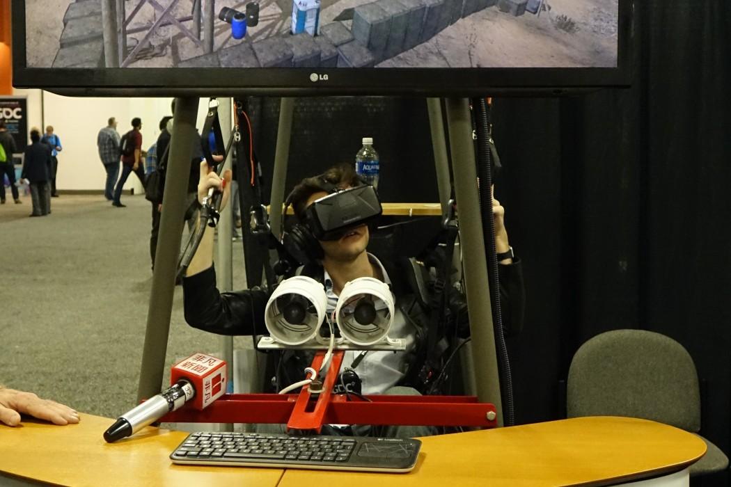 A VR Parachute experience