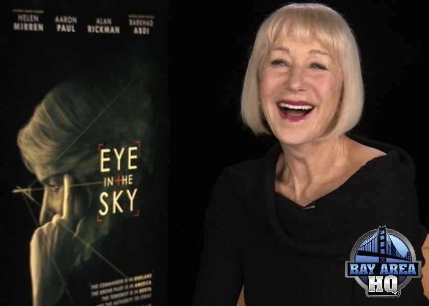 Helen Mirren Eye in The Sky Interview Kim Kardashian 2016