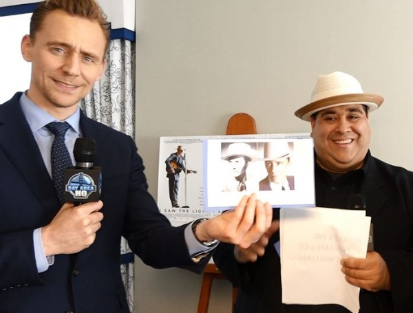 I Saw The Light San Francisco Interview Tom Hiddleston 2016