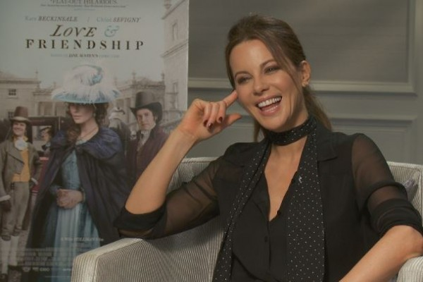 Kate Beckinsale San Francisco Love & Friendship Interview
