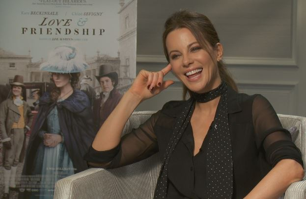 Kate Beckinsale San Francisco Love & Friendship Interview