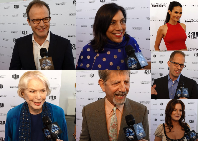 San Francisco Film Society Awards 2016 - Tom McCarthy Mira Nair Ellen Burstyn