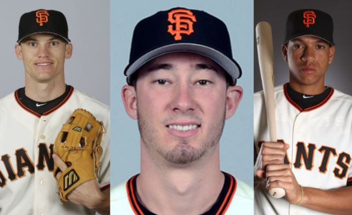 Trevor Brown, Tomlinson, Adrianza,SF Giants To Meet Fans