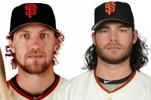 Hunter Pence, Brandon Crawford, Giants Meet & Greet:6/26