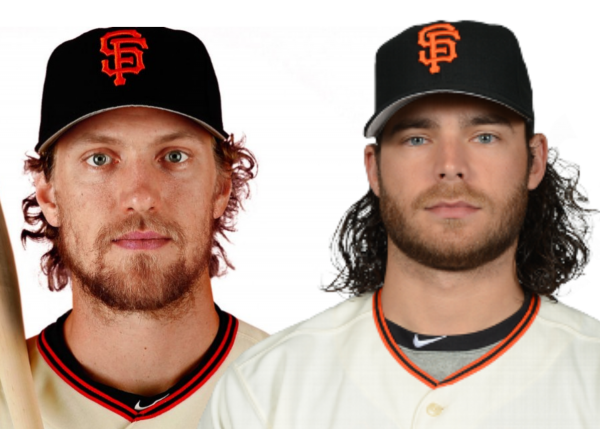 Hunter Pence Brandon Crawford Meet and Greet