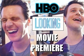 Jonathan Groff HBO LOOKING Movie Cast Interviews In SF