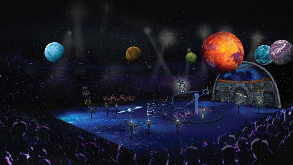 Ringling Brothers Circus Out of This World