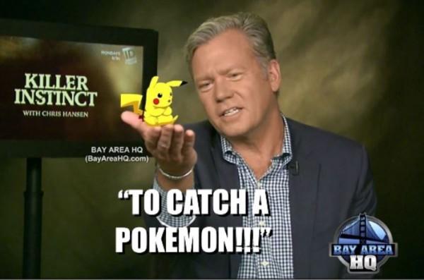 Chris Hansen Killer Instinct To Catch A Pokemon Interview Hansen vs. Predator