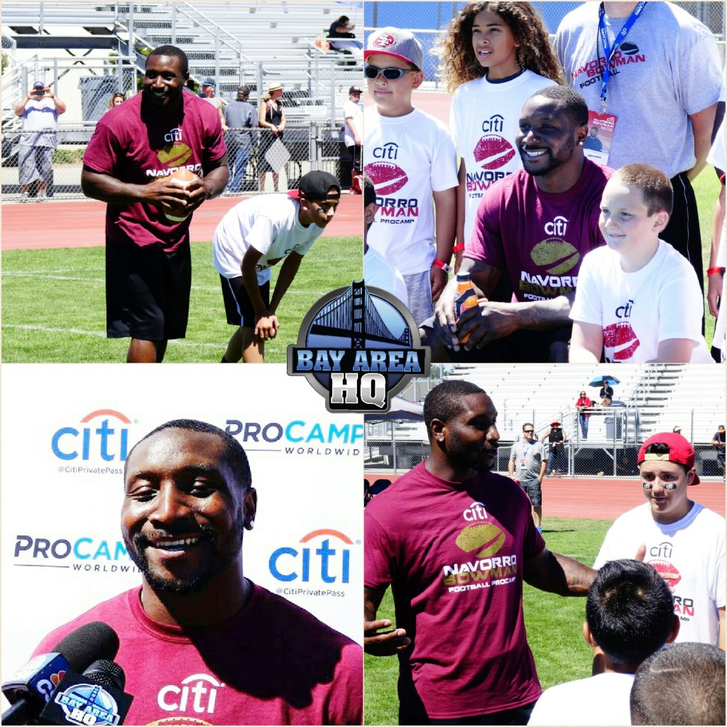 49ers NaVorro Bowman 49ers ProCamps on Kevin Durant Warriors 2016 Interview