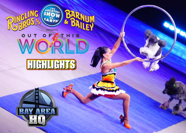 Ringling Bros Brothers Out of This World Circus Highlights Cast Interview 2016