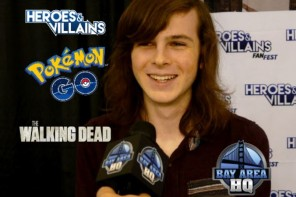 Chandler Riggs Interview & Cosplay Gallery at HVFF!