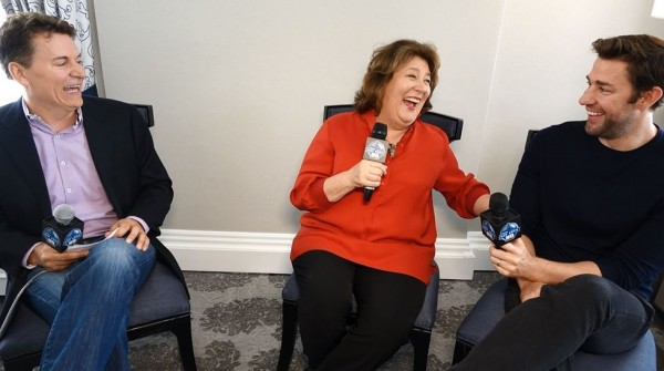 The Hollars John Krasinski Margot Martindale San Francisco Interview 2016