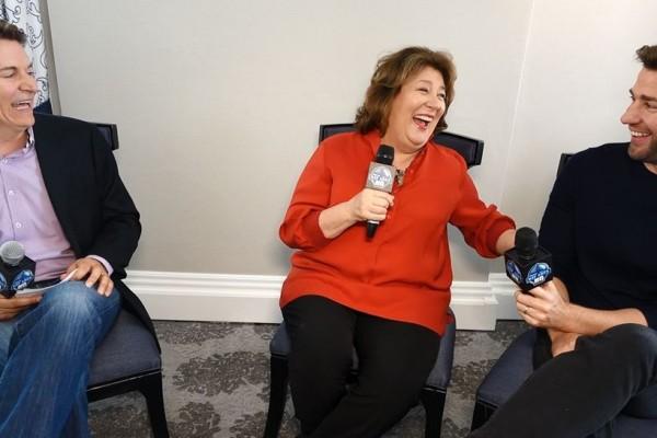 The Hollars John Krasinski Margot Martindale San Francisco Interview 2016