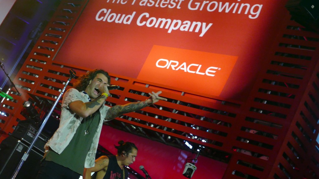 American Authors Oracle Open World 2016 Welcome Reception
