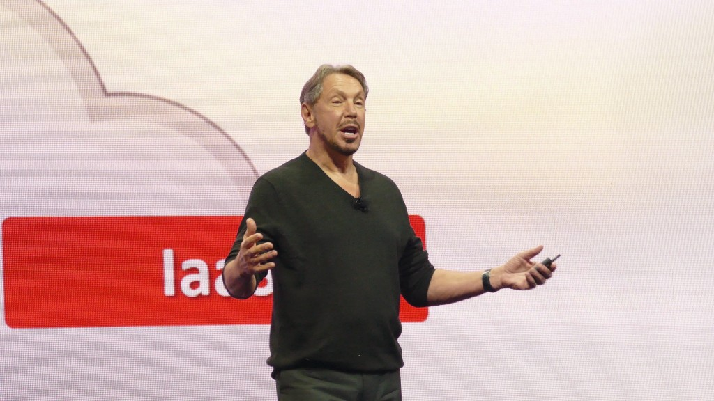 Larry Ellison Keynote Oracle Open World 2016