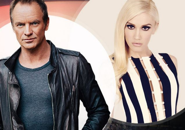 Oracle Open World 2016 Sting Gwen Stefani Appreciation Event