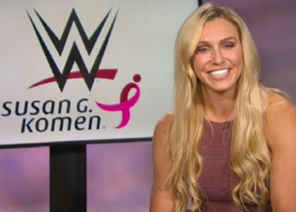 Charlotte Flair Interview WWE Paige Goldberg Ric Flair Sasha Banks Hell in A Cell 2016