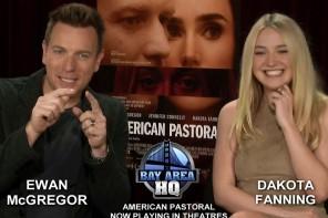 Dakota Fanning Knit Ewan McGregor A Scarf!