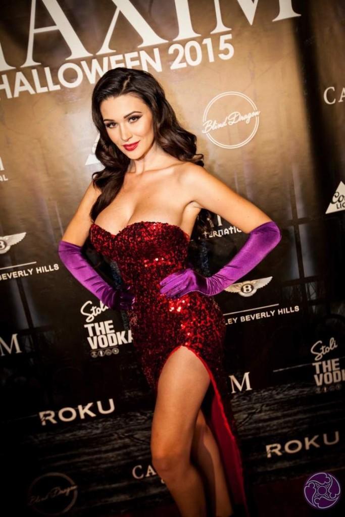 Jenna Jenovich Maxim Halloween Party